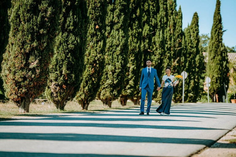 cerimonia di matrimonio civile dentro abbazia di san galgano