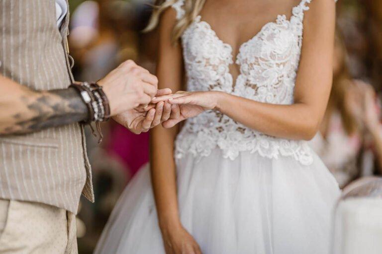 reportage di cerimonia di matrimonio civile in villa paese dei campanelli